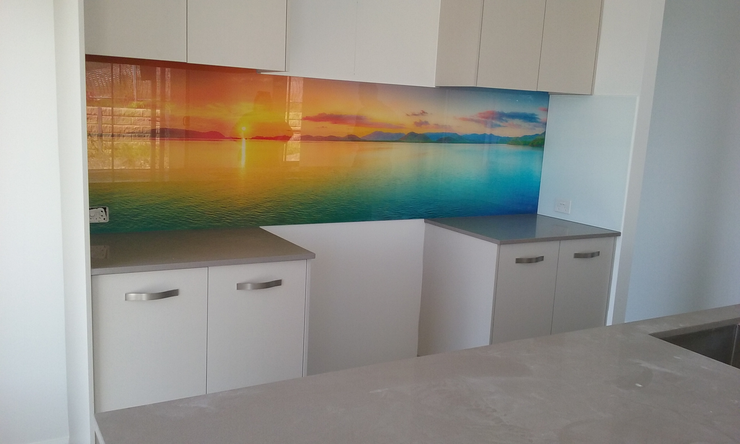 Printed Glass Kitchen Splashbacks For Your Kitchen Or Bathroom Walls Graphic Glass Services